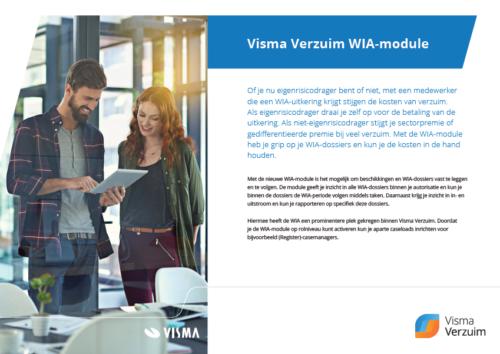 Visma Verzuim WIA-module